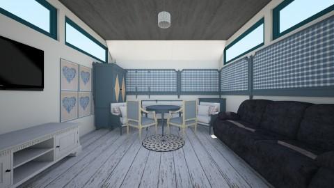 Feeling kinda blue - Classic - Living room - by linnda123222