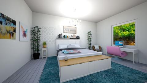Boho - Bedroom - by Crazy cat girl 10