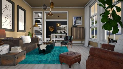 Eclectic Living - Eclectic - Living room - by evahassing