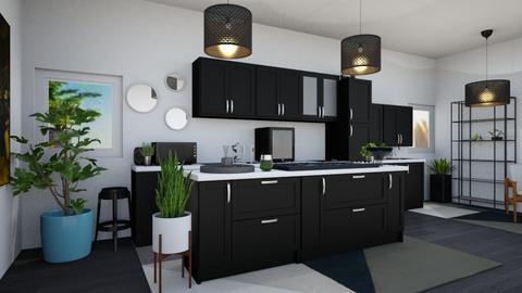 Boho Kitchen 4 - Modern - Kitchen - by Isaacarchitect