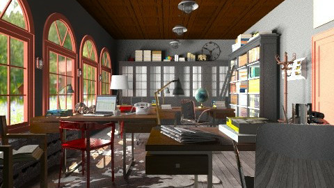 Vintage office - Vintage - Office - by hetregent
