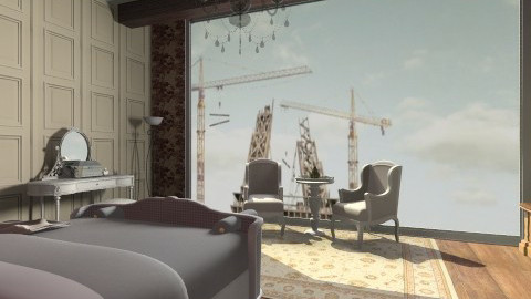 paris room - Classic - by Jade w