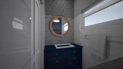 Powder Room  - Bathroom - by TColl3