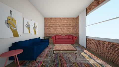 boho - Living room - by karolann1005