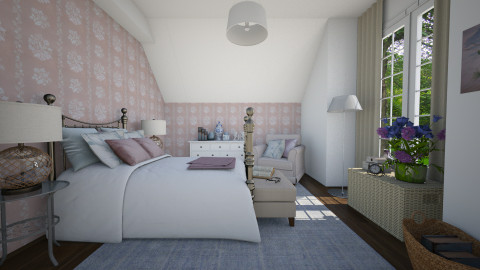 New colors - Classic - Bedroom - by Tuija