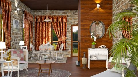 S_Remixed  - Country - Living room - by Shajia
