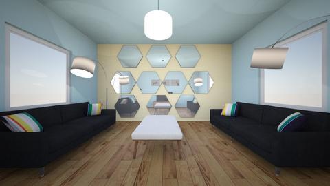 room - Modern - Living room - by 22ehall