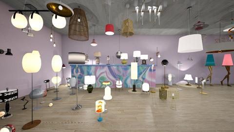 IP   Lamps - Glamour - by  o