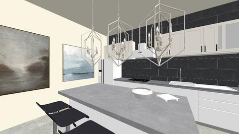 Dream Kitchen - Modern - Kitchen - by ellejay_1207