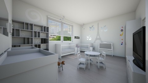 baby 2 - Kids room - by vanesskka11