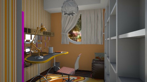 Nakagi Capsule Room 2 o - Modern - Office - by sometimes i am here