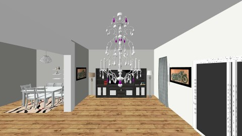 Living and Dining Room - Modern - Living room - by Giadaberriada