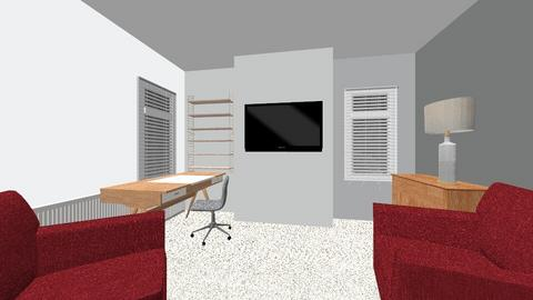 AK James Home Office - by hwhomedesign