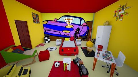 race bed - Modern - Kids room - by zayneb_17