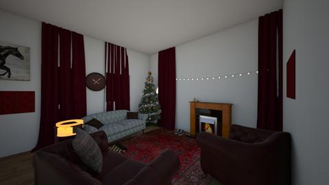 cosy lounge christmas - Living room - by BLOBy2