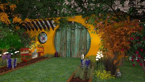 magic house garden - Rustic - Garden - by soralobo