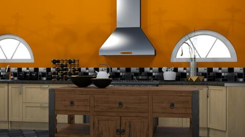 Global Color Pallette  - Kitchen - by abbyt94