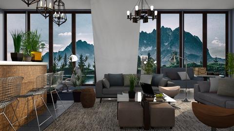 Esker - Living room - by ZuzanaDesign