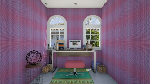 retro mini office - Retro - Office - by eleonoraxruc