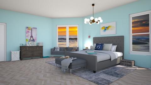Haring Oak - Bedroom - by Ellie665