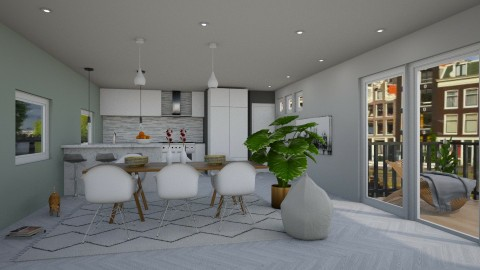 Apartment Redecoration - Modern - Living room - by bgref