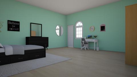 room - Glamour - Bedroom - by KawaiiNatalia