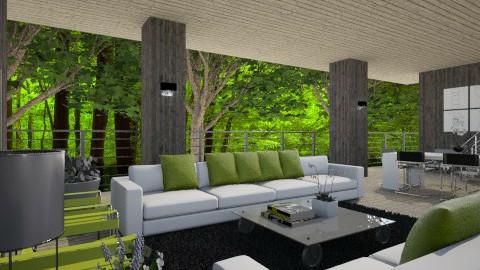 Livingroom021 - Classic - Living room - by Ivana J