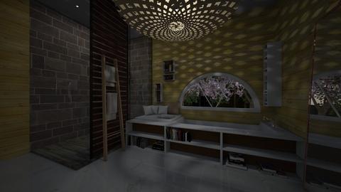 13 aprli 2018 - Bathroom - by silent scream