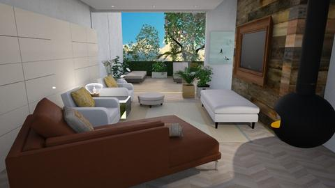 Indoor and outdoor  - Modern - Living room - by augustmoon
