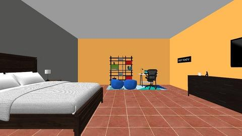 bros room - Bedroom - by kimberlylopez