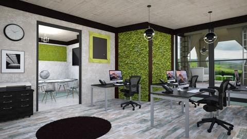 living wall office - Global - Office - by zayneb_17