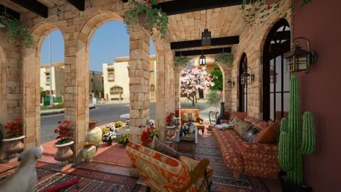 Design 42 Hacienda Patio - Garden - by Mohamed Zeyada