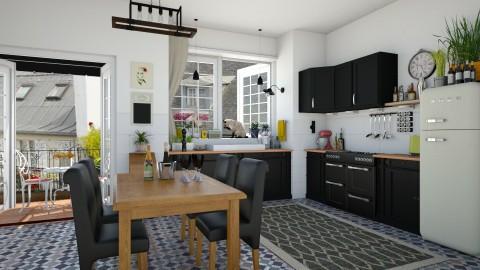 Montmartre - Kitchen - by mel1808