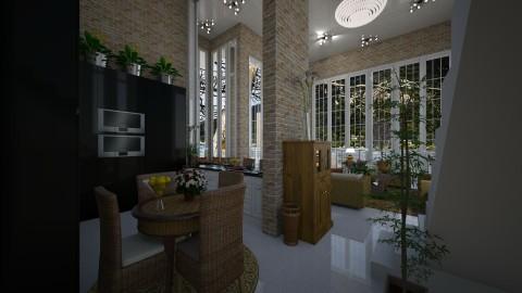 Casa de Praia - Kitchen - by Maria Helena_215