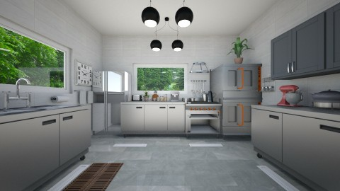 Industrial Kitchen - by VeroDale