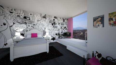 Daisy - Bedroom - by josielz