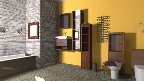 joy - Vintage - Bathroom - by nezkokopi