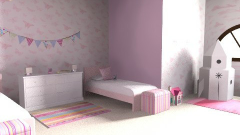 Fit for a princess or two! - Country - Kids room - by jadebeal