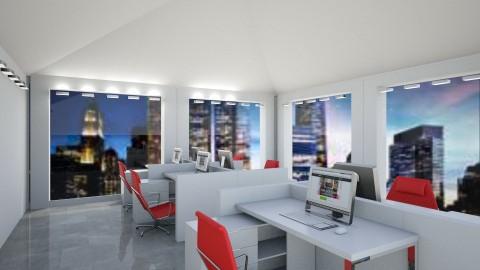 Skyline Office - Modern - Office - by millerfam
