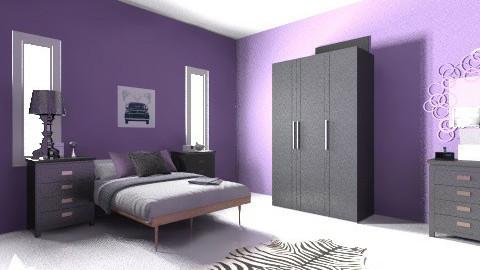 retro girl - Retro - Bedroom - by jammytania