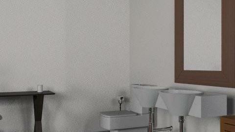 bath - Retro - Bathroom - by jessica_winterhalter