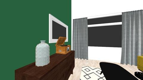 woonkamer - Retro - Living room - by martijnvdmaat
