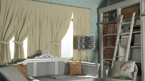 Qin's classic home Library - Eclectic - Office - by Qin He