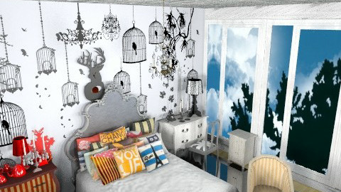 city apartment! - Glamour - Bedroom - by Uh Huh