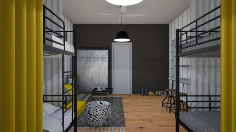 Hostel Room - by chania