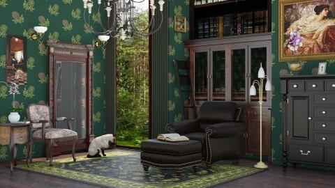 M_ Dark corner - Living room - by milyca8