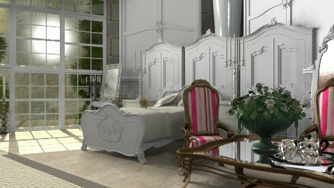 Rapunzel's room. View 3 - Classic - Bedroom - by Your well wisher