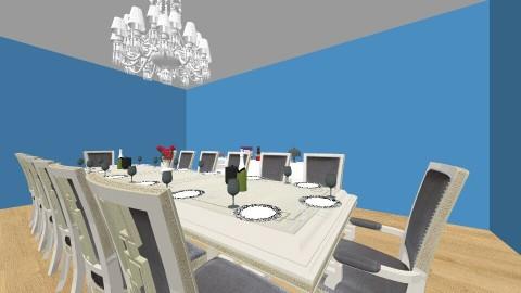 dining room - Dining room - by NeshelleNewburn