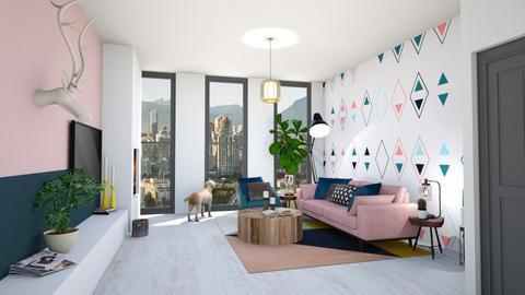artisch - Living room - by maudberg01