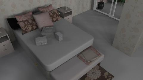 Quarto  romantico - Rustic - Bedroom - by lariruiva